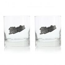 Milwaukee Rocks Glass Set (Set of 2)