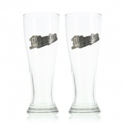 Milwaukee Pilsner Glass Set (Set of 2)